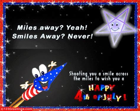 A Smile From Miles  Free Fireworks eCards, Greeting