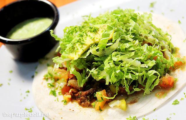 Silantro's Lucha Tacos Soft Taco (Ligero P65; Medio P85; Completo P100)
