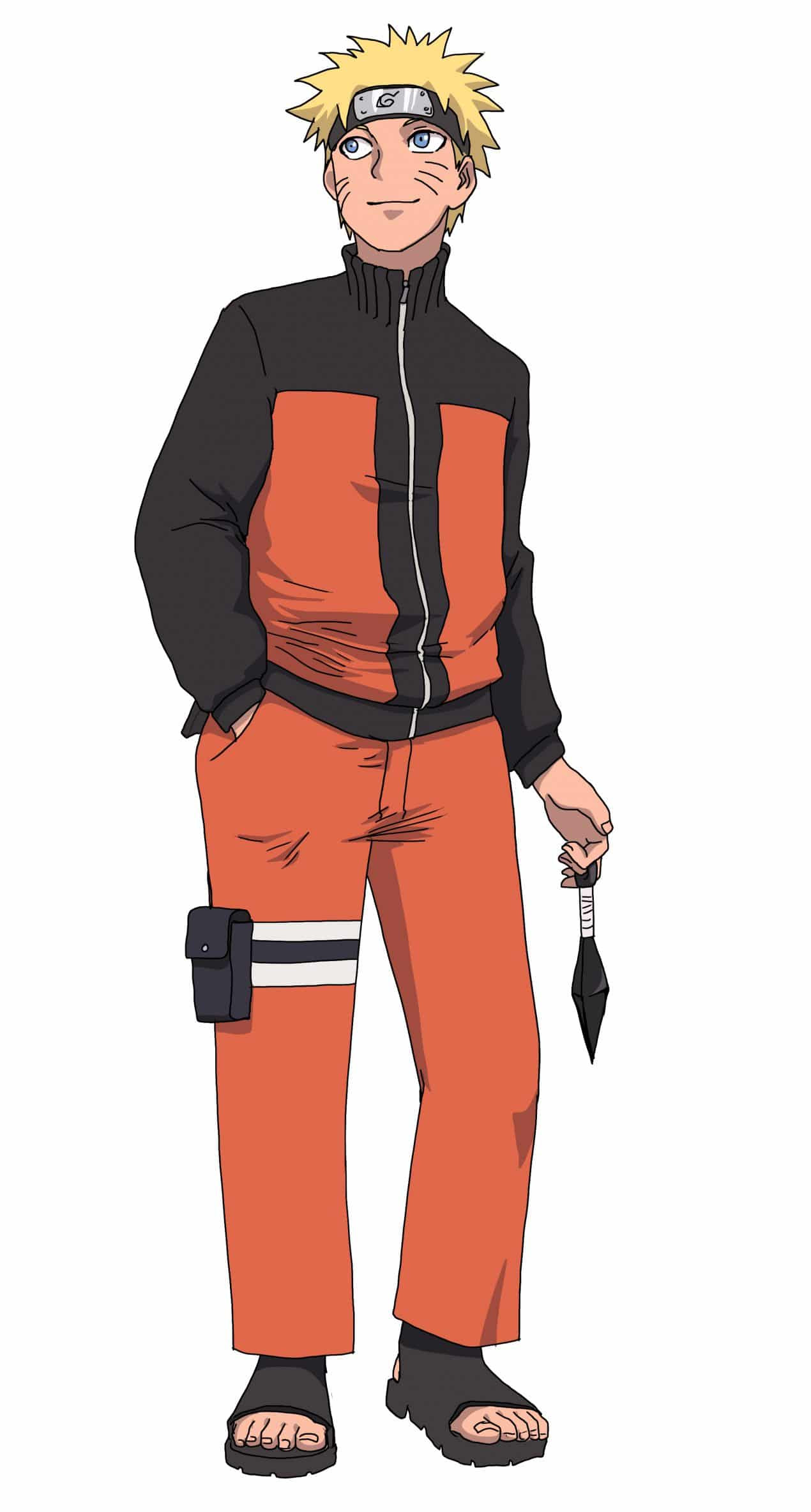 How To Draw Naruto Full Body Improveyourdrawings Com