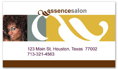 BCS-1123 - salon business card