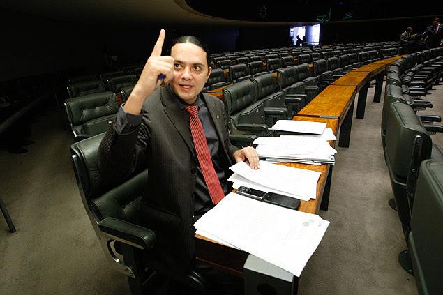BRASÍLIA, DF, BRASIL, 03-02-2011, 14h50: Deputado Weliton Prado, que apresentou os primeiros projetos para votação na Câmara dos Deputados na 54ª Legislatura. (Foto: Sergio Lima/Folhapress, PODER)