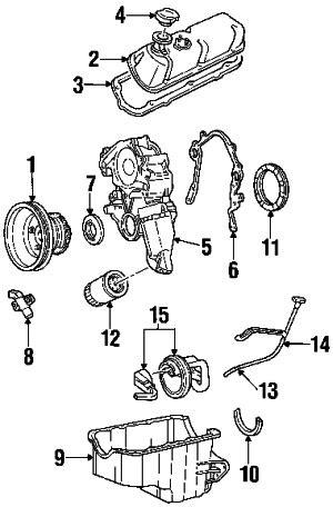 1998 Ford F-150 XL (6 Cyl 4.2L -) Engine Parts