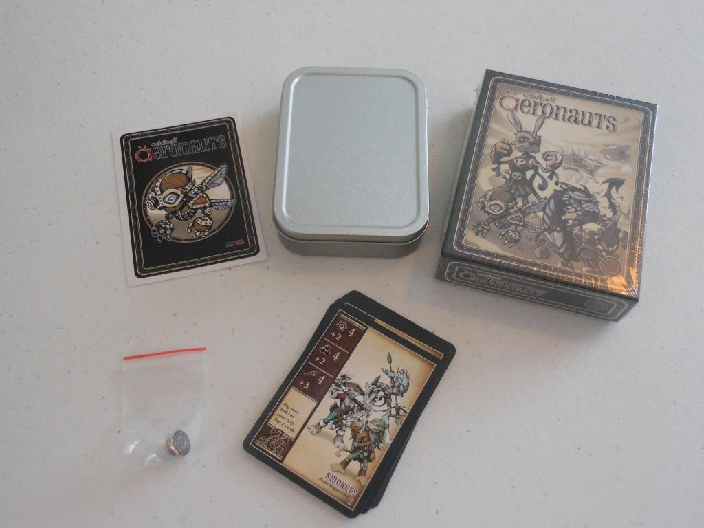 oddball Aeronauts game contents