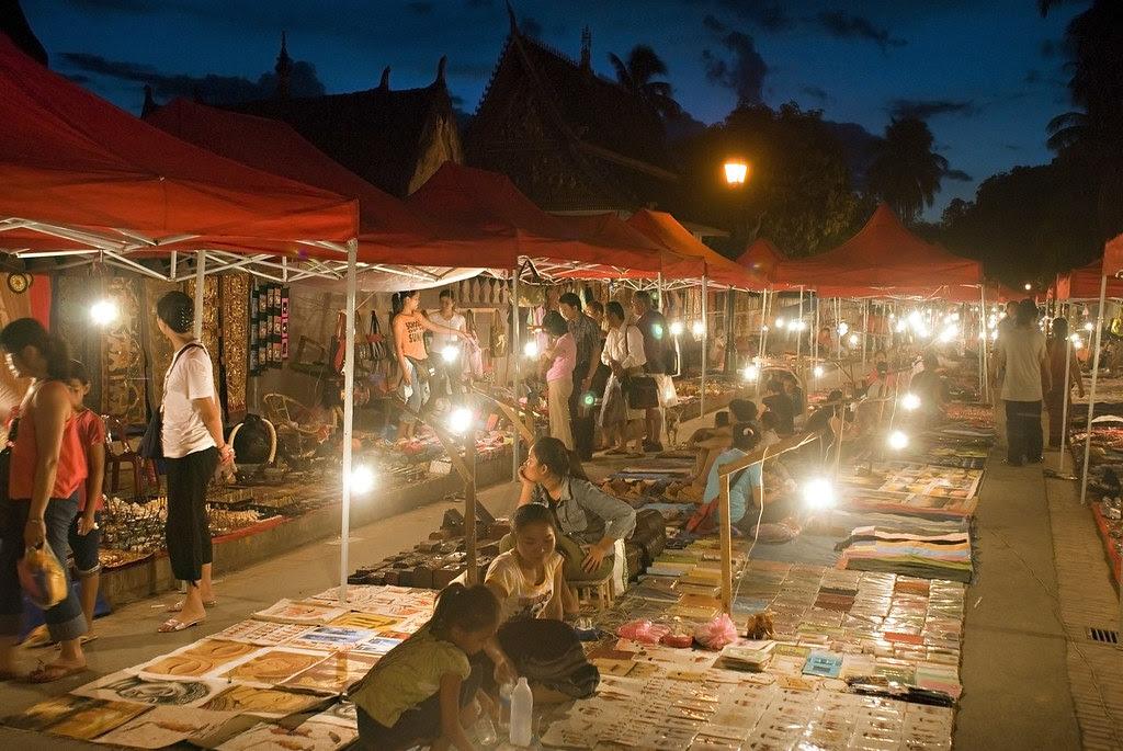 Mercado Luang Prabang