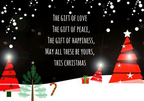 Gift Of Love, Gift Of Peace. Free Merry Christmas Wishes