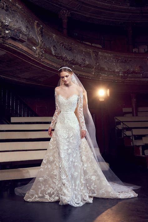 Elie Saab Fall 2018 Bridal   Fashion   Elie saab bridal