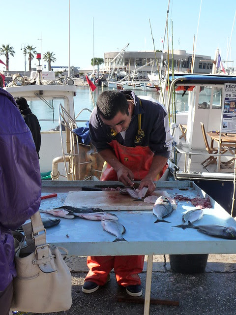 Gutting Fish in Cassis