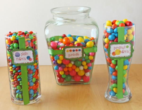 How To Make A Birthday Party Candy Buffet Oh Nuts Blog