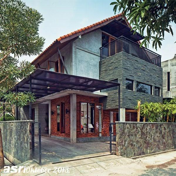 Pagar Rumah Beton Minimalis | Ide Rumah Minimalis