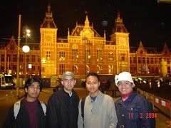 Amsterdam Central Station, Amsterdam, Netherlands