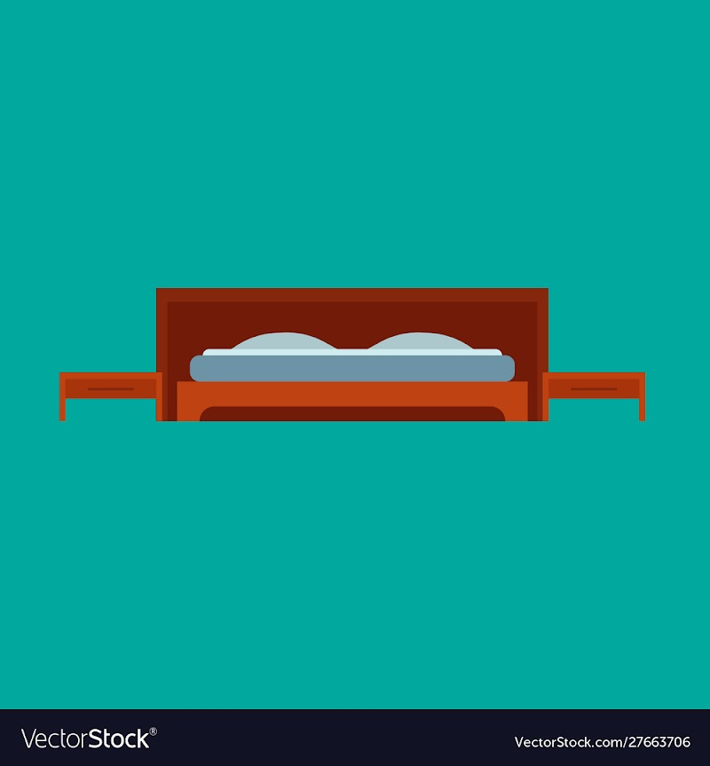 Trends For Cartoon Simple Bedroom Clipart pictures