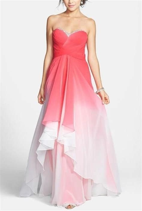 Pink ombre gown  This is perfect for prom!   Dresses For