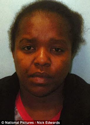 Lina Katongola, 29, was jailed for one year