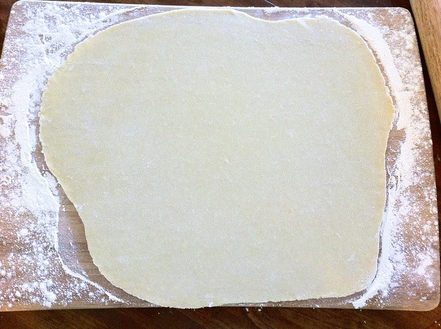 Rolling Pastry Dough