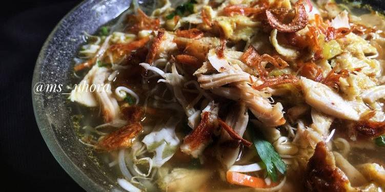 Resep Soto Ayam Versi Jawa Oleh Miss Nora
