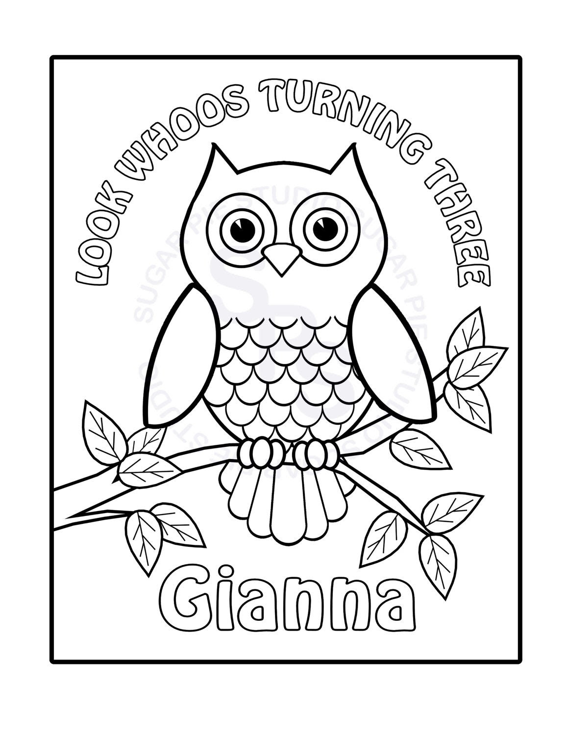 Owl Coloring Pages Printable - Futpal.com