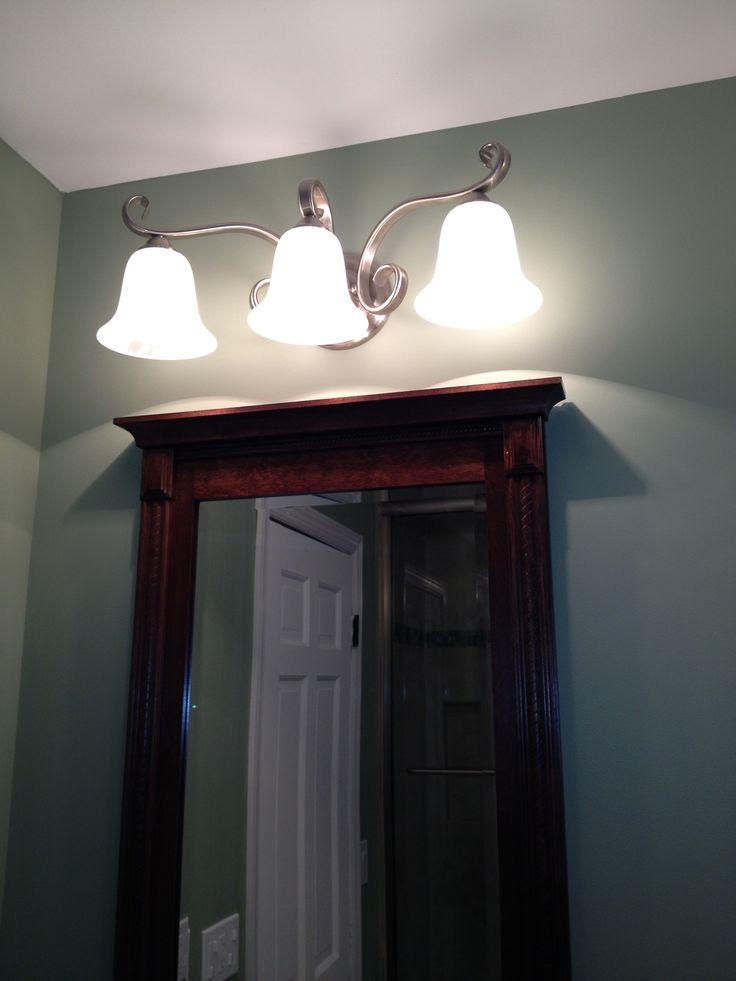 Over Mirror Light Bathroom - All About Bathroom