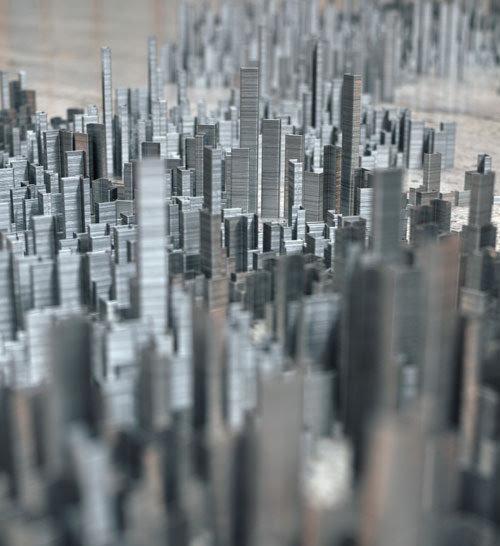 Peter Roots Ephemicropolis   A City of Staples