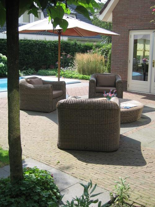 New Garden design for country house mediterranean patio