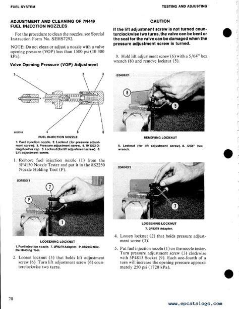 caterpillar 3304 Vehicular Engine PDF Books & Manuals