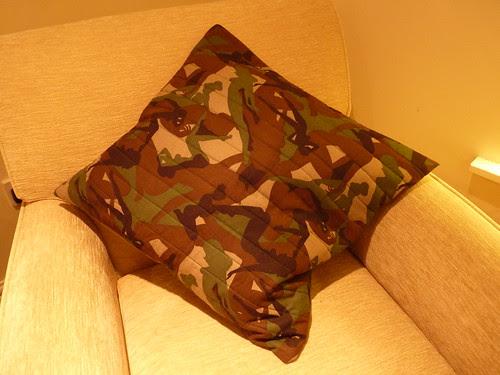 Pillow present