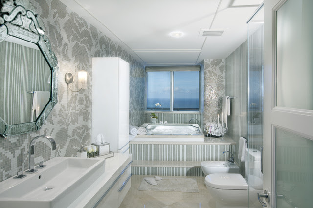 Modern Interior Design at the Jade Beach - contemporary - bathroom
