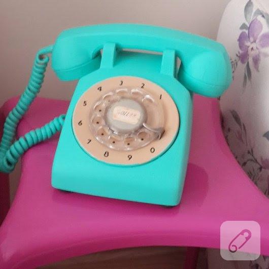 Eski Antika Telefon Nasıl Boyanır 10marifetorgda