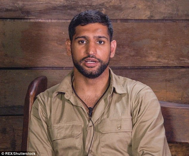 Misunderstanding: Amir Khan's latest I'm A Celebrity... Get Me Out of Here! blunder has taken the biscuit after Extra Camp host Joel Dommett revealed that the sports star was unaware he was being filmed in the Bush Telegraph