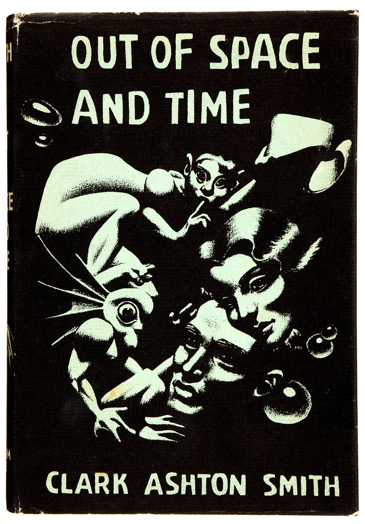 Hannes Bok - Clark Ashton Smith. Out of Space and Time. Arkham House, 1942