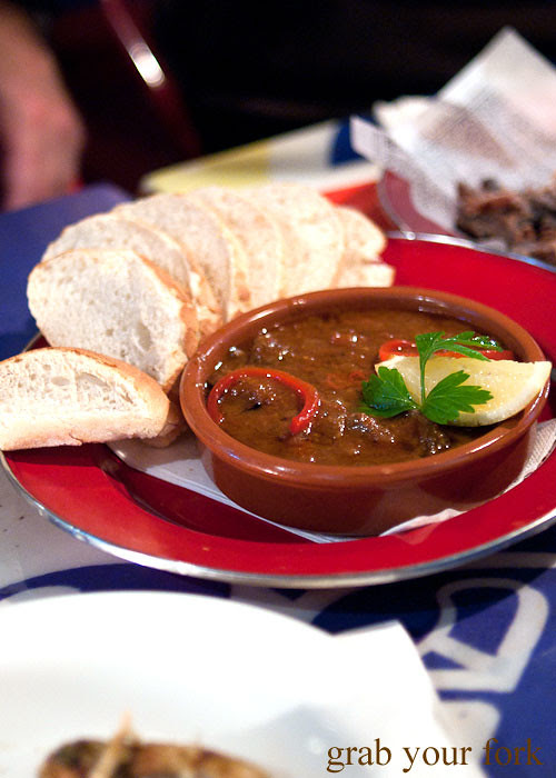 hau chicken livers with peri peri at lucky tsotsi south african street food darlinghurst