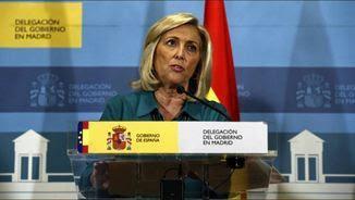 La delegada del govern a la Comunitat de Madrid, Concepción Dancausa (EFE)