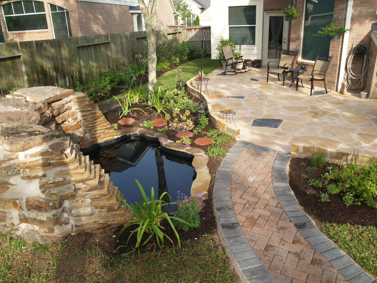 Landscaping for a backyard ideas
