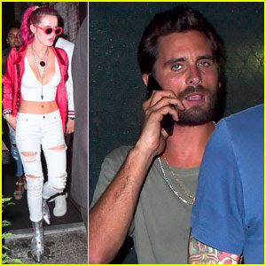 Bella Thorne Parties With Scott Disick in New York City