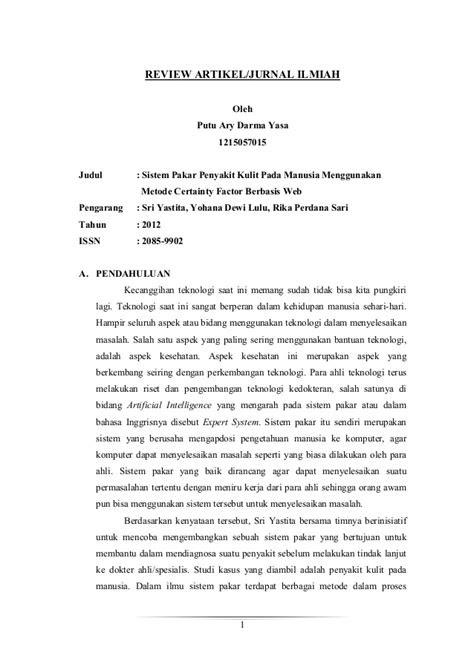 Contoh Makalah Review Jurnal - Contoh 37