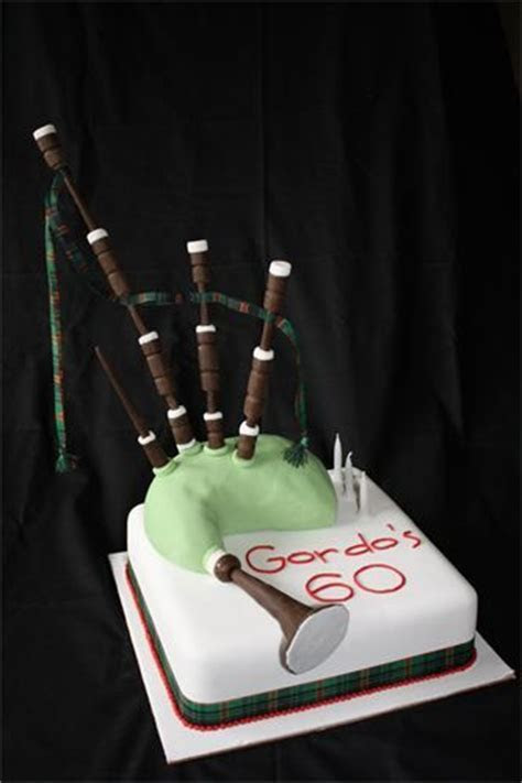 8 best Bagpipe cakes images on Pinterest