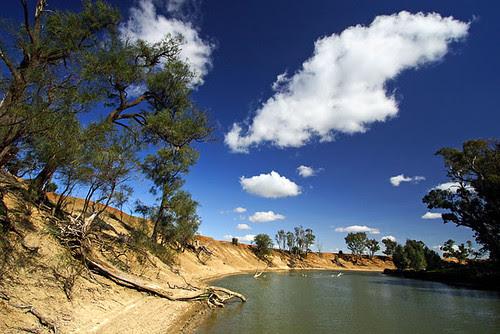 Murrumbidgee River, Hay, New South Wales, Australia, The Long Paddock   IMG_5987_Hay