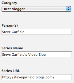 Streamys: Best Vlogger
