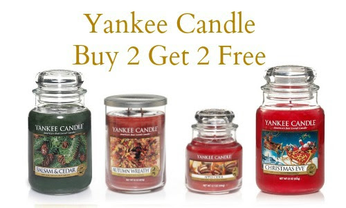 Yankee Candle Coupon: Buy 2, Get 2 Free! :: Southern Savers