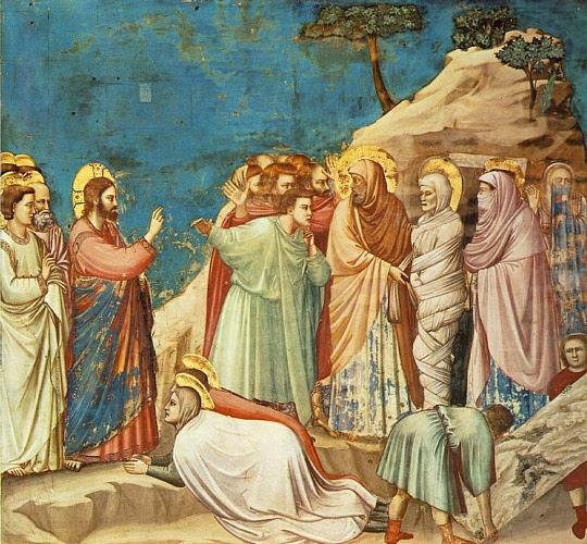 Resultado de imagem para A ressurreição de Lázaro