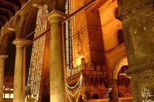 Bologna, Due Torri, dicembre 2004