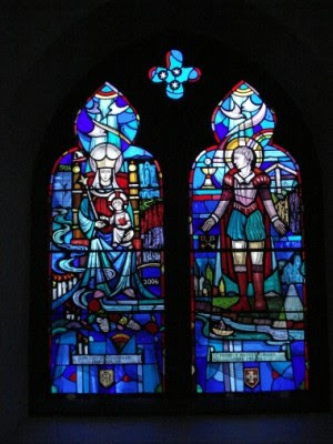 Stained Glass Windows St Patricks Telford
