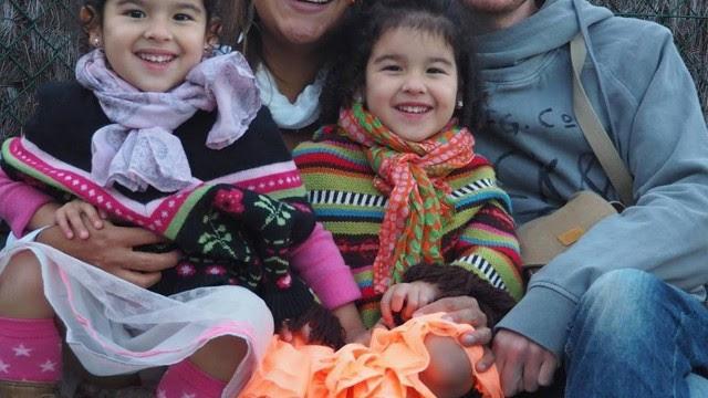 Adelma Marina Tapia Ruiz estava com a família no aeroporto