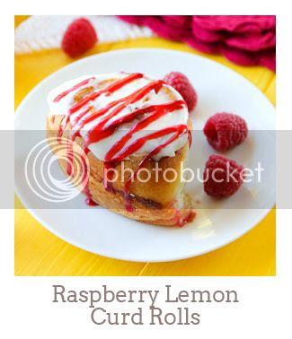 """Raspberry Lemon Curd Rolls"""