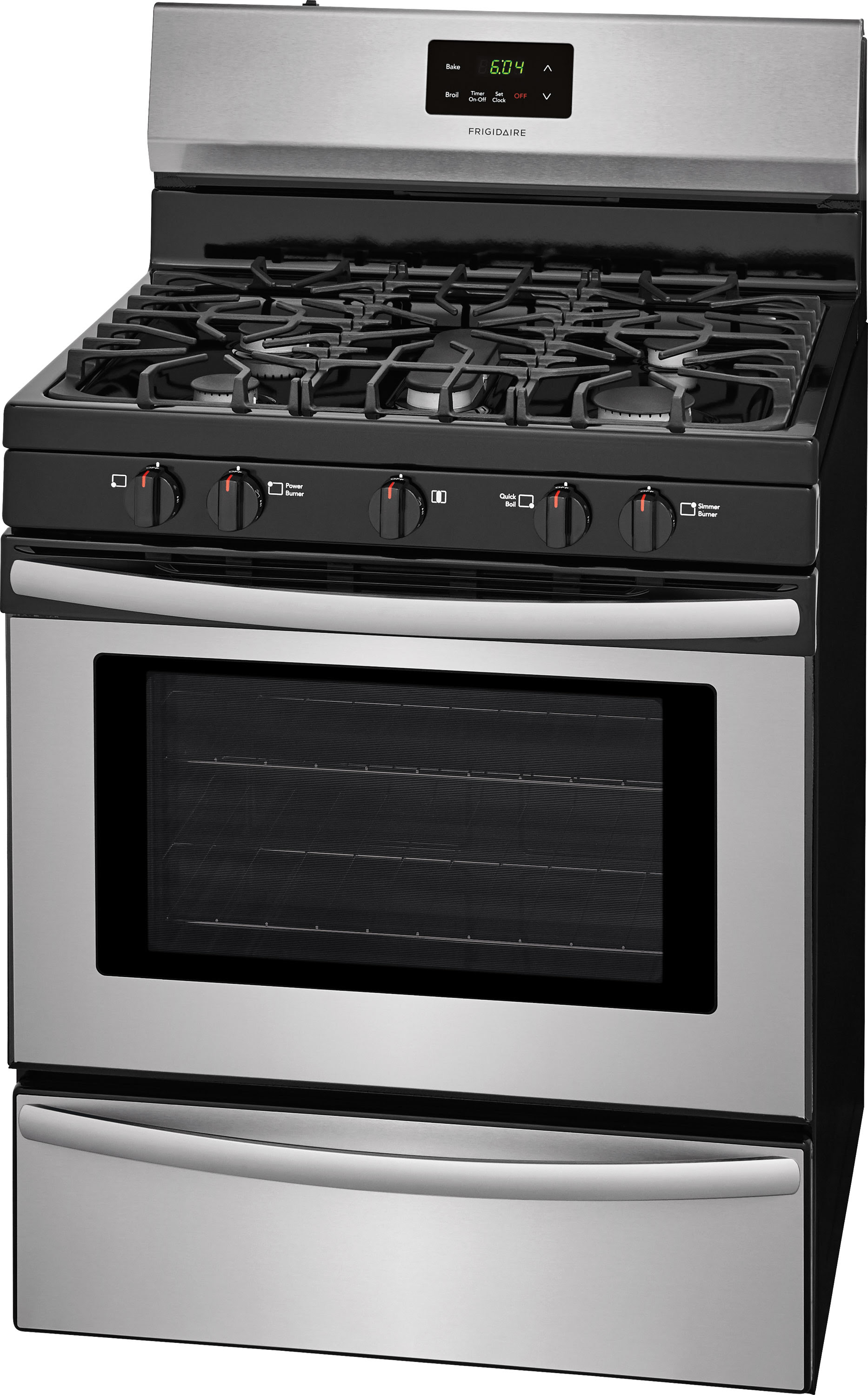 "Frigidaire FFGF3052TS 30"" Freestanding Gas Range Stainless"