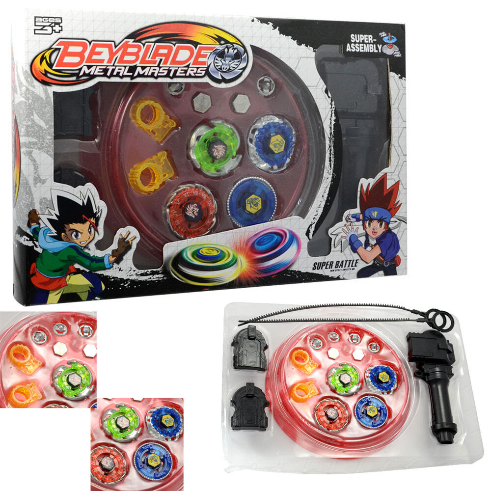 Fusion Tops Metal Masters Fight Rare Beyblade 4D Launcher ...