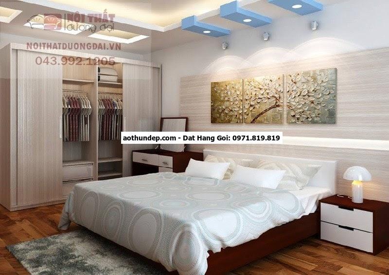 Áo buồng phòng với màu sắc nhã nhặn phù hợp với các tông màu kết hợp với thiết kế tinh tế tạo nên một chiếc áo, buồng phòng ti
