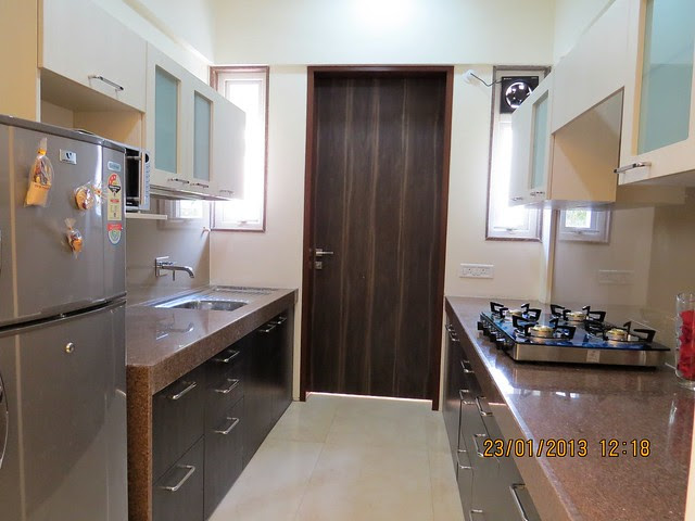 Kitchen - 3 BHK Bungalows at Green City Handewadi Road Hadapsar Pune 411028