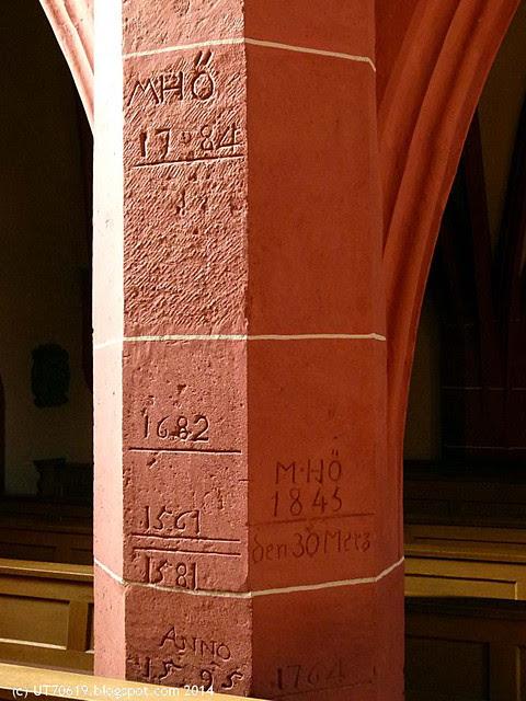frickenhausen säule kirche