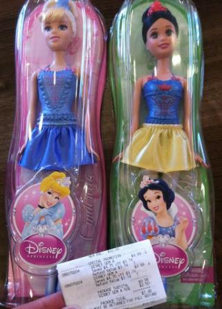 Target: Disney Princess Dolls only $3.75 each!