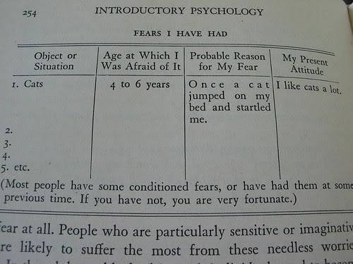Psychology - I like cats a lot
